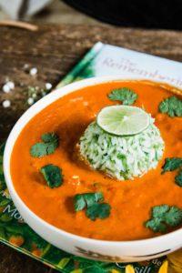 Roasted Carrot & Bell Pepper Soup