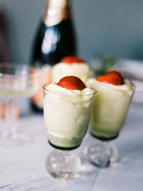 Champagne Sabayon | Let's Taco Bout It Blog